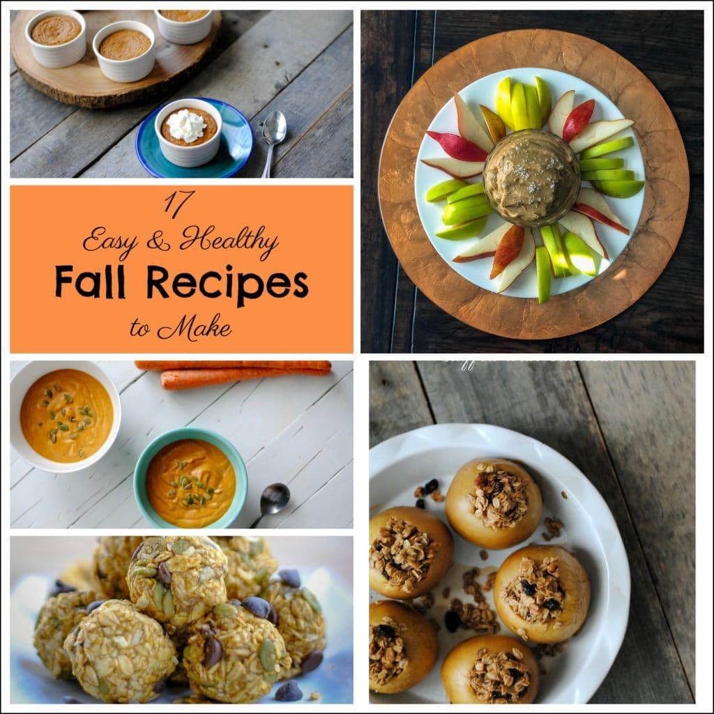 17 Easy Fall Recipes - Gluten Free