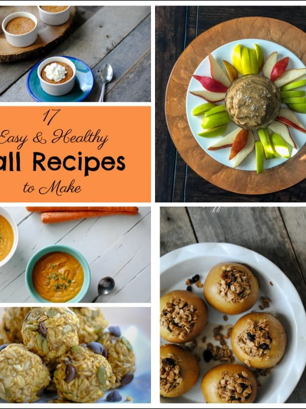 17 Easy Fall Recipes - Gluten Free