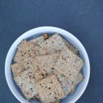 A recipe for nut free grain free crackers