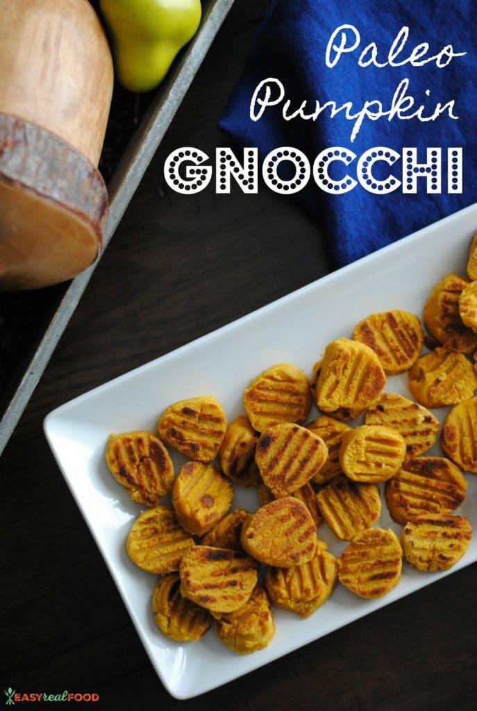 paleo pumpkin gnocchi - gluten-free, vegan