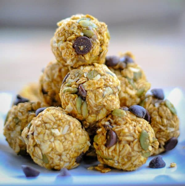 Kid-friendly Pumpkin Energy Balls