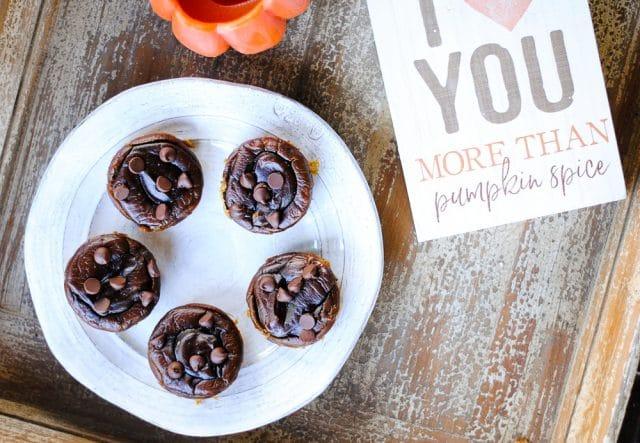 pumpkin flourless blender muffins