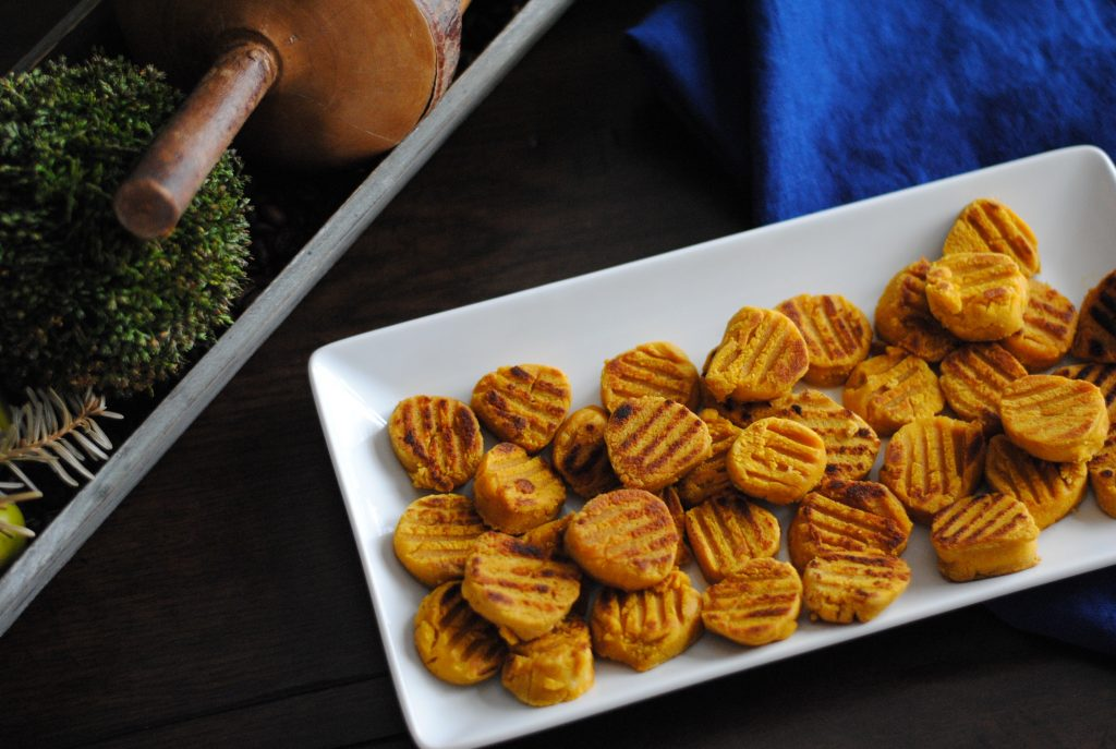 paleo pumpkin gnocchi - an easy recipe