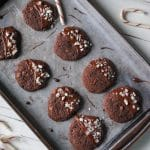 Gluten Free Peppermint Chocolate Cookies #glutenfree