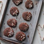 Gluten Free Peppermint Chocolate Cookies - #chocolate #glutenfree