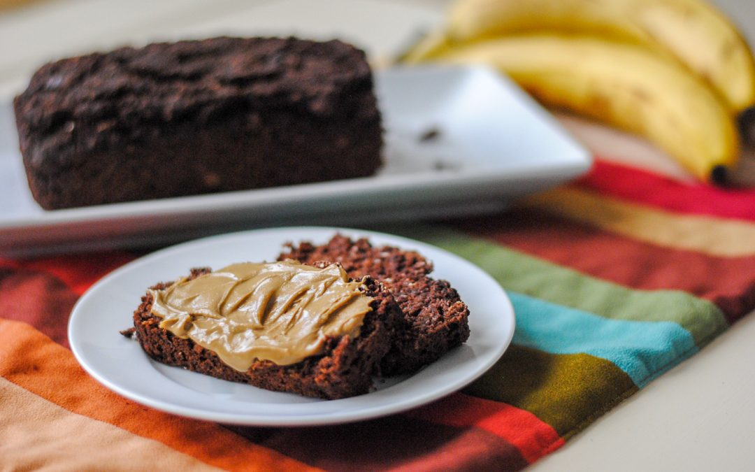 Vegan Chocolate Banana Bread With Black Beans