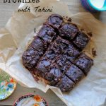 A recipe for paleo Sweet Potato Brownies with Tahini