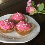 Paleo coconut flour vanilla cupcakes - grain free and vegan