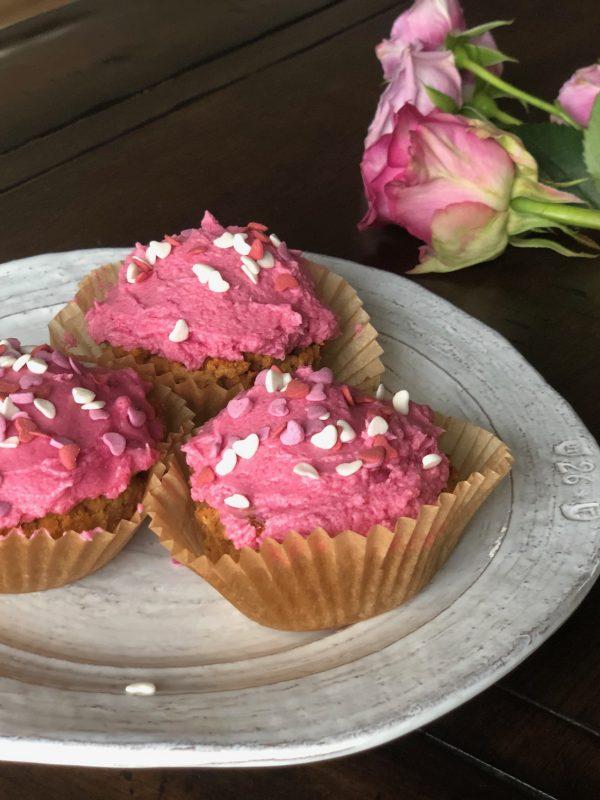 Paleo coconut flour vanilla cupcakes - grain free and vegan