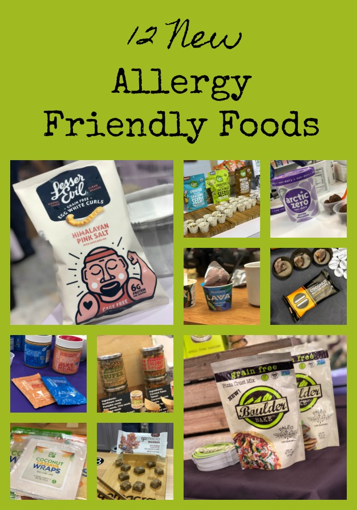 12 New Allergy Friendly Foods