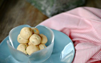 Cake Batter Protein Balls for New Moms