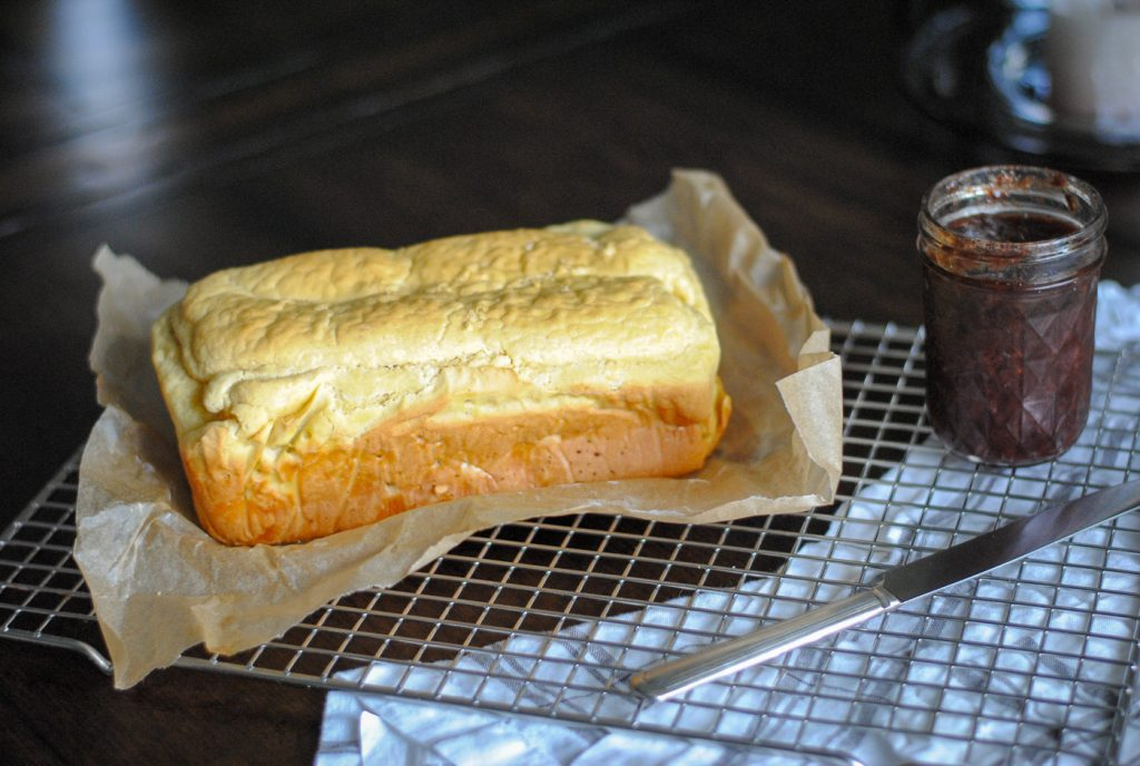 A recipe for a nut free grain free bread