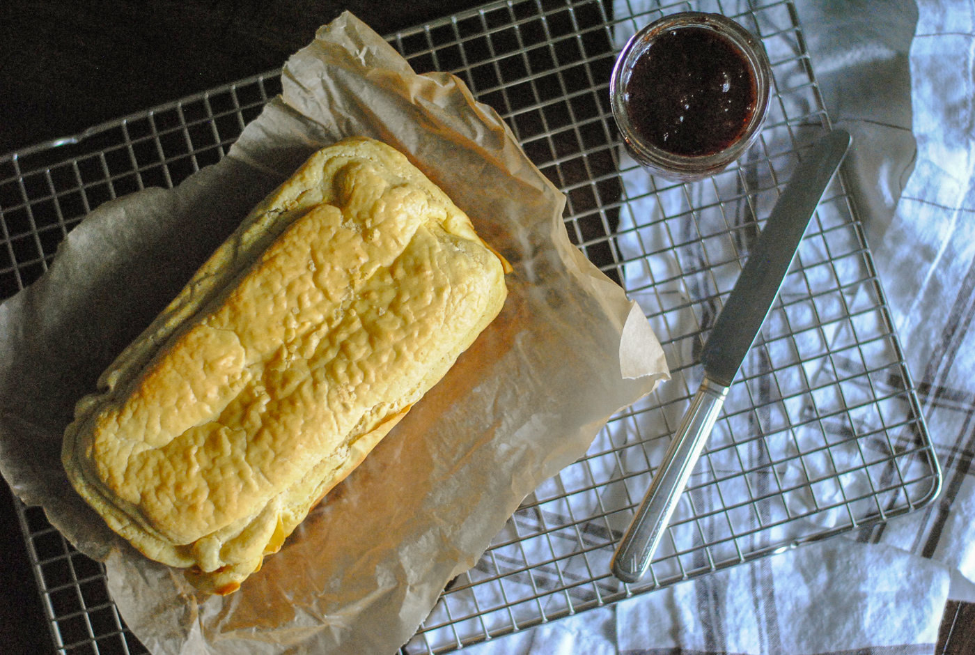 A recipe for paleo cassava bread