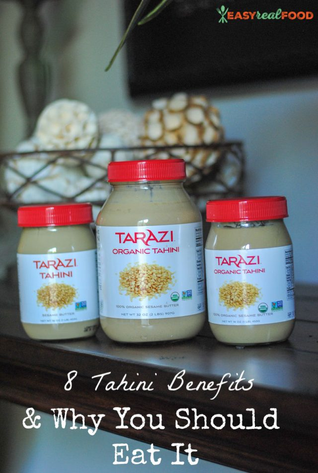 benefits of tahini - #paleo #nutfree #healthyfats #seedcycling