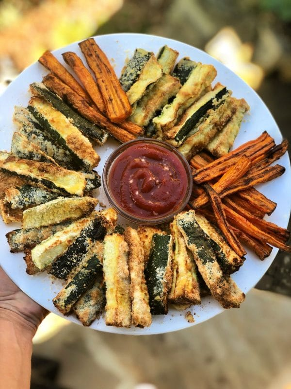 Air Fryer Zucchini Fries Paleo