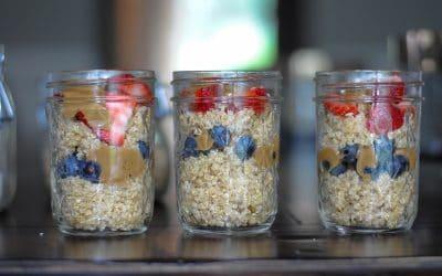 Make Ahead Chocolate Quinoa Breakfast Porridge