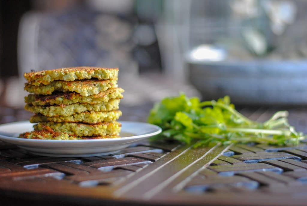 Vegetarian Fritters - a split pea recipe
