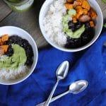 easy green tahini sauce - blender sauce with tasty herbs and tahini