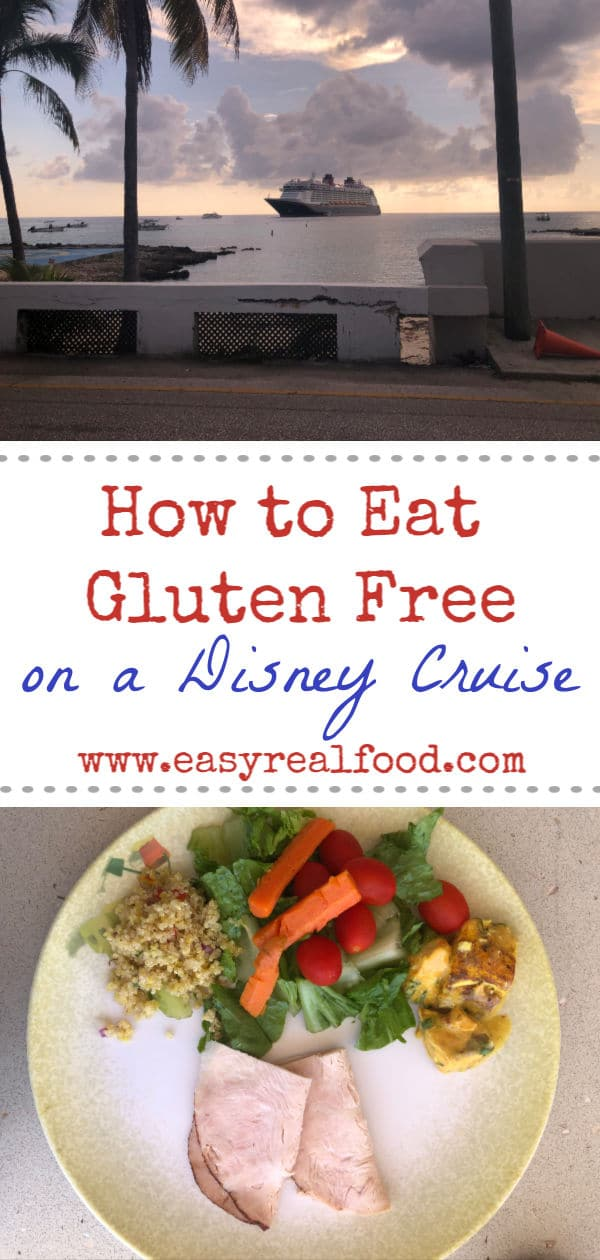 how to eat gluten free on a disney cruise #disneyfantasy #glutenfreewdw