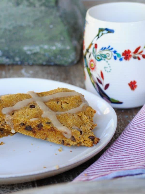 paleo moist pumpkin scone recipe - paleo, grain free and dairy free