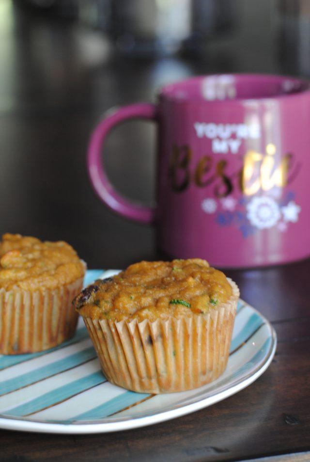 super healthy grain free zucchini chocolate chip muffins