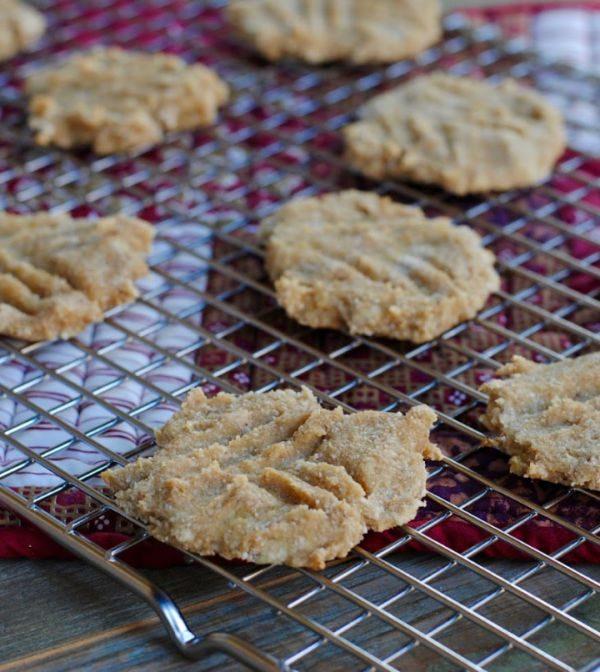 3 ingredient healthy cookies. Sugar free and grain free.