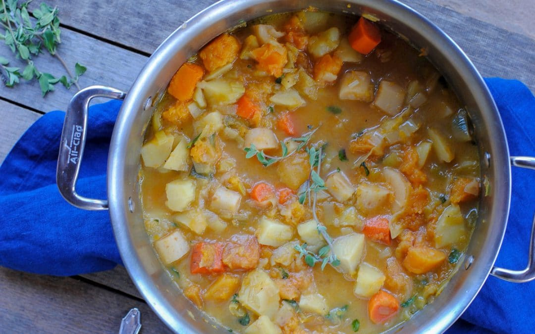 Chunky Root Vegetable Stew