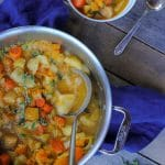 chunky root vegetable stew recipe