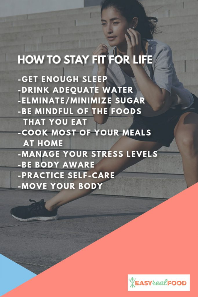 HOW TO STAY FIT FOR LIFE