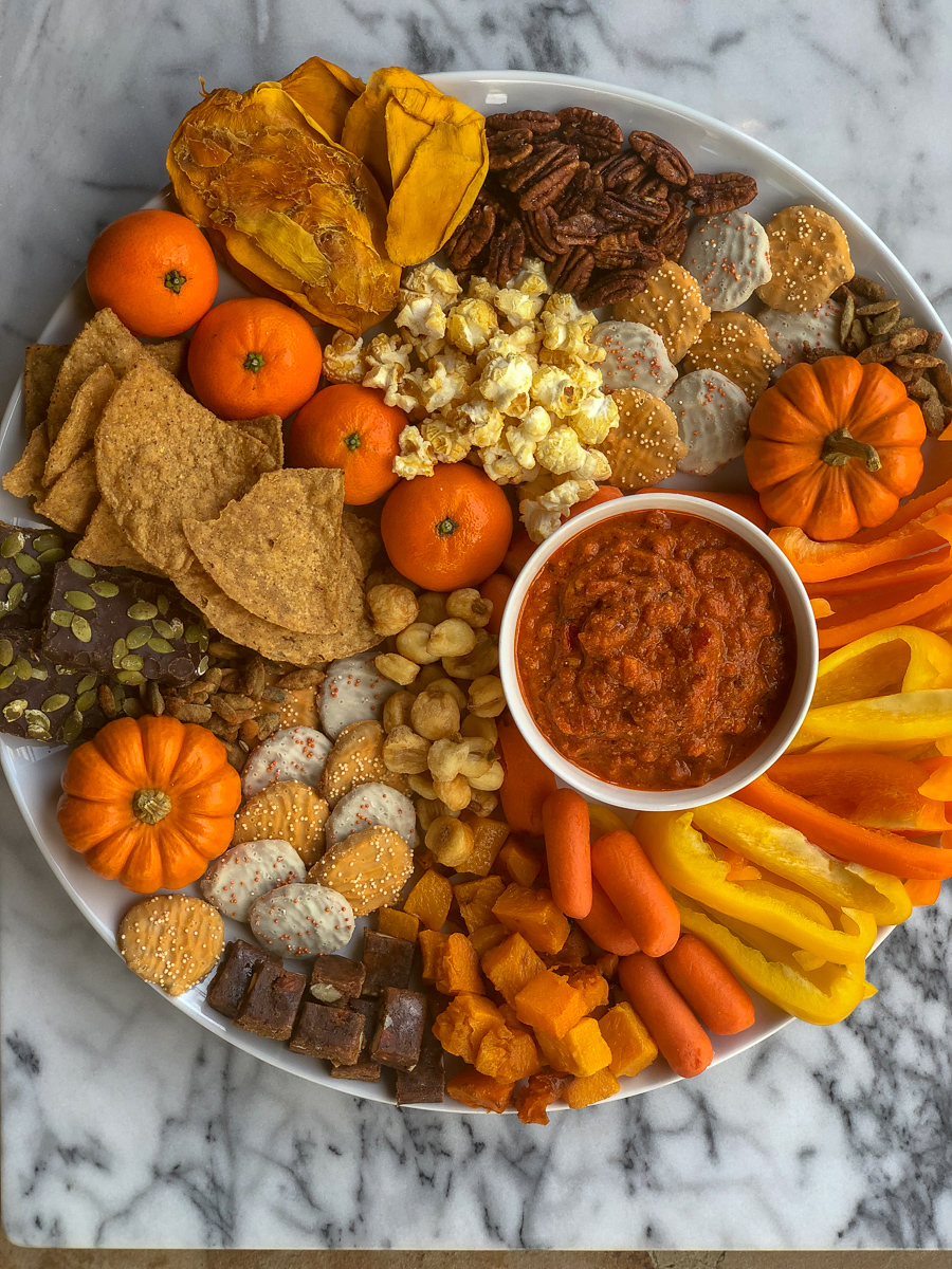 how to build a fall board - entertaining with trader joe's products. #easydinner #easyappetizer