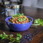 Instant Pot Mexican Quinoa. A simple pressure cooker recipe for Mexican Quinoa. #pressurecooker #instantpot
