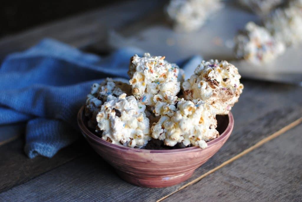 The easiest popcorn ball recipe