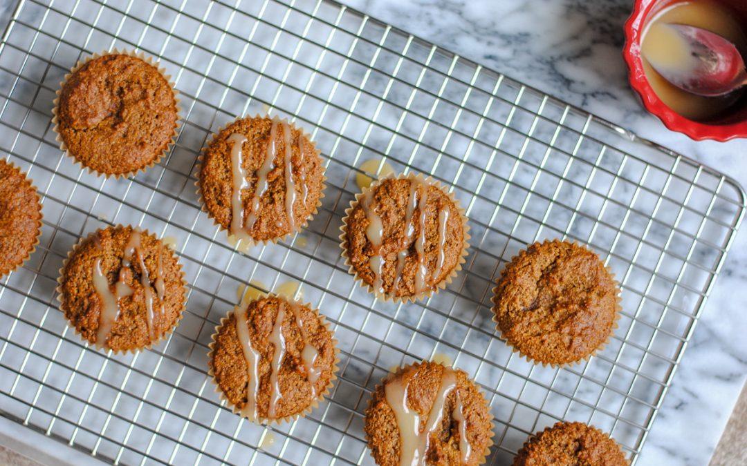 Gluten Free Gingerbread Muffins (Paleo)