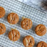 paleo gingerbread muffins - perfect for the holidays and beyond. #paleomuffin #paleogingerbread