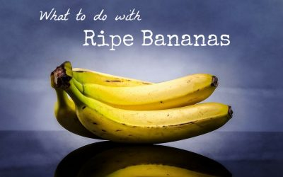 8 Uses for Ripe Bananas