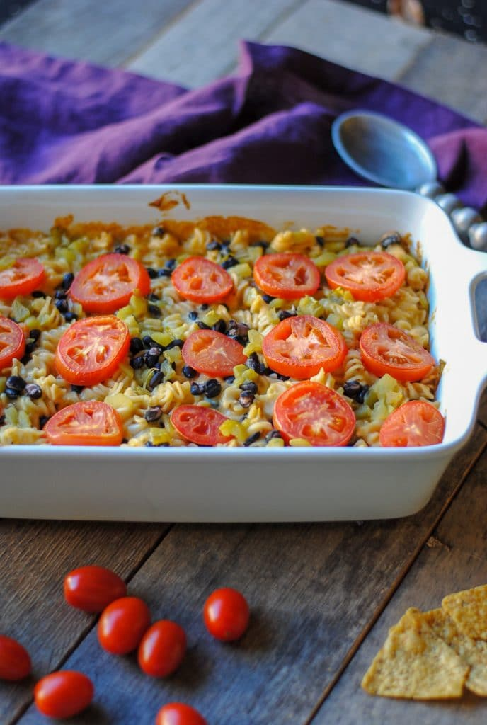 Easy Dinner: Mexican Mac and Cheese