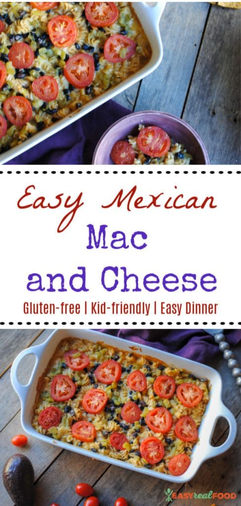 Mexican Mac and Cheese - an easy kid-friendly dinner