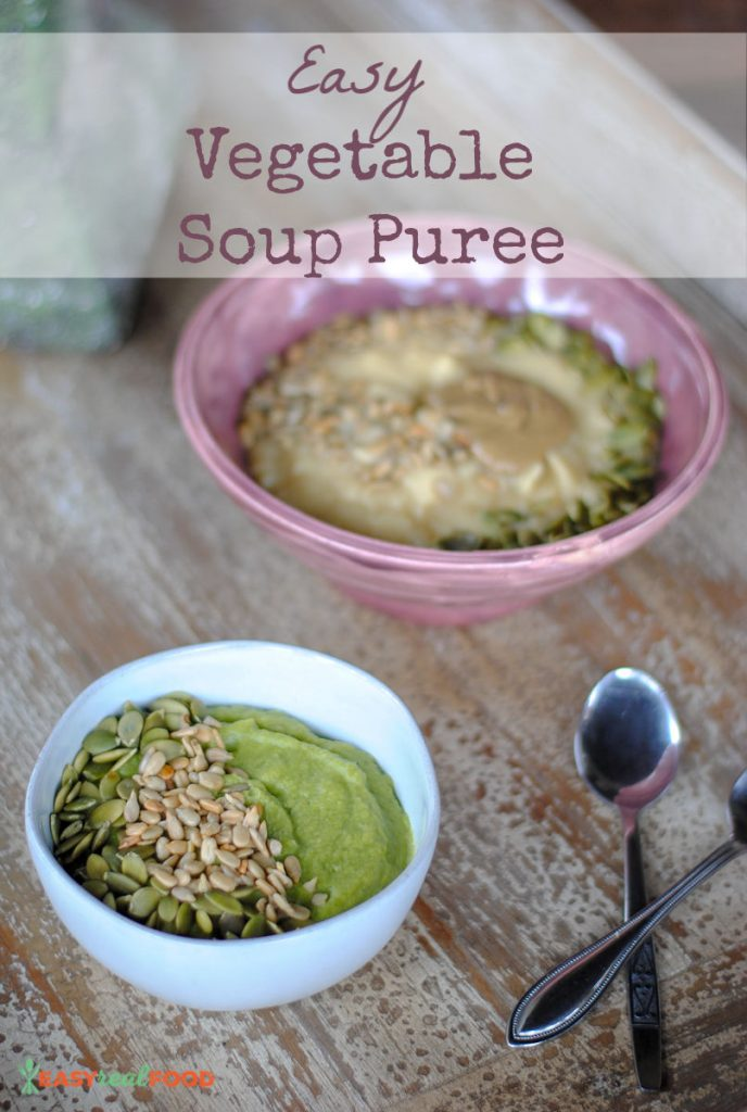 Simple Healthy Vegetable Puree - meal prep