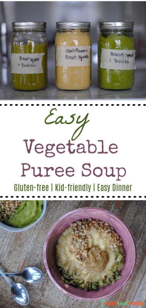 Simple Vegetable Puree - #mealprep