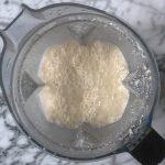 homemade cashew milk provides a base for dairy free gajar halwa