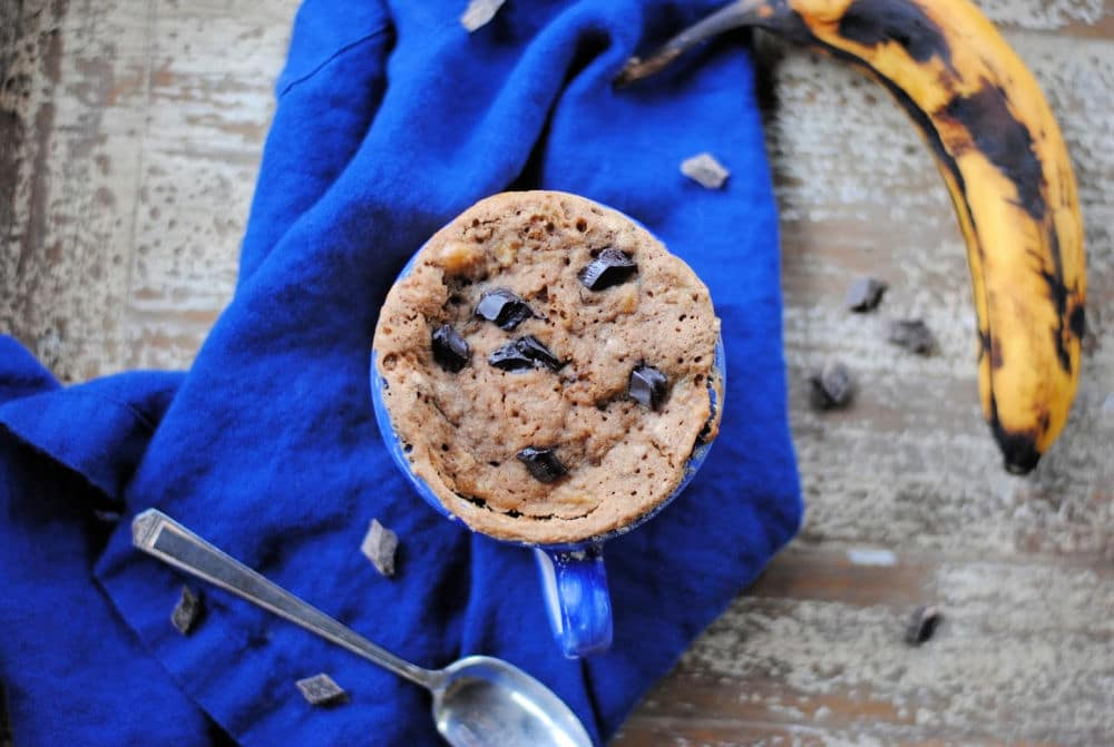 Paleo Mug Cake with Banana Flour (Grain Free)