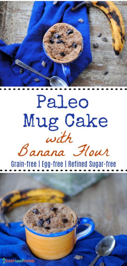 Paleo Mug Muffin with Banana Flour