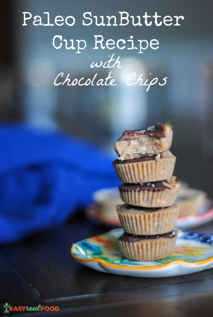 allergy friendly nut butter cup recipe - nut free
