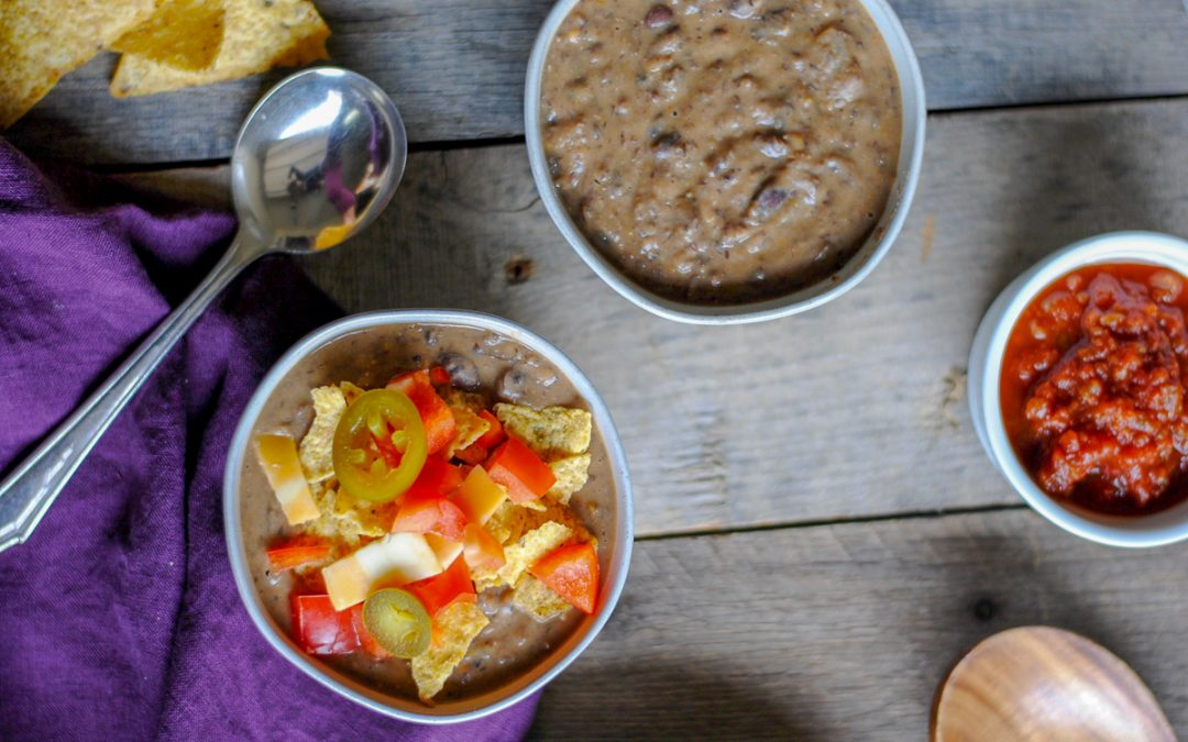 30 Minute Easy Black Bean Soup