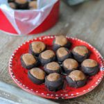 simple protein buckeyes with protein powder