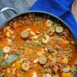 easy paleo cauliflower paella