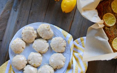 Healthy Lemon Cookie Recipe (Paleo, Gluten Free + Vegan)