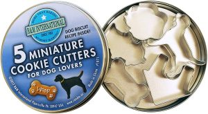 Small dog cookie cutters for homemade biscuits