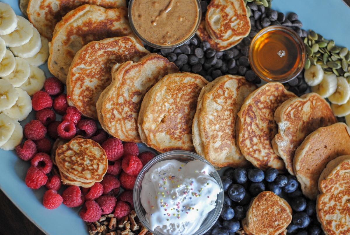 Creating a breakfast board