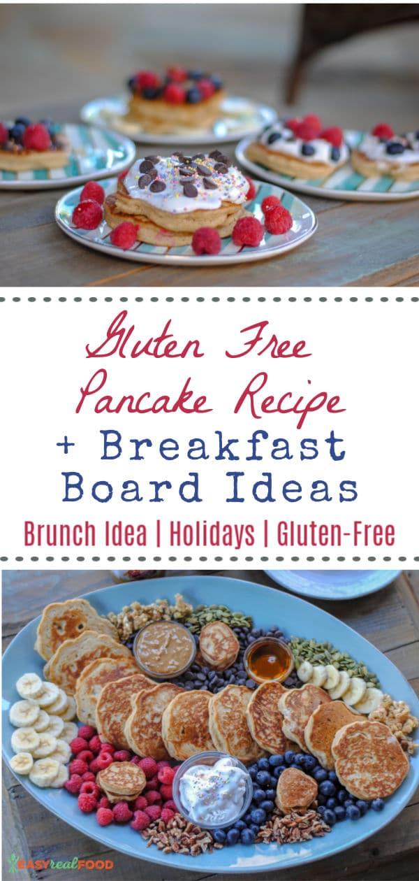 How to make a breakfast board + a gluten free pancake recipe!
